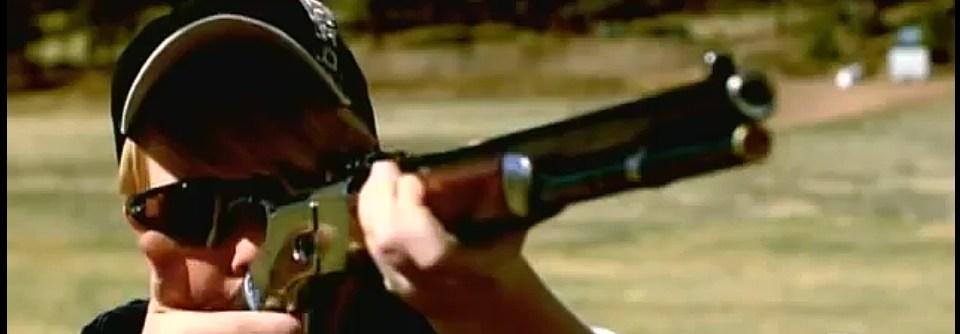 Cowboy Action Shooting Kid Champ vs. SMG in Showdown