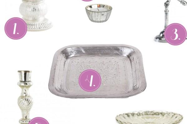 Shoppingtips Silber und Bauernsilber, Wohnaccessoires, Trend