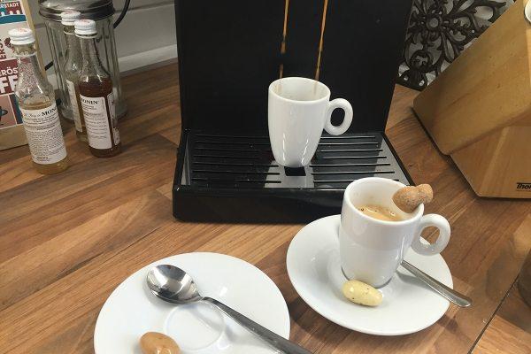 Das Essen war üppig, zum Glück ist der Kaffee gut ;-)