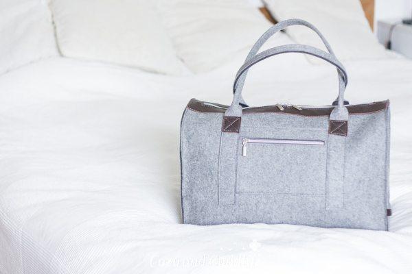 Mit Handgepäck verreisen, meine Packliste und eine Finefilz-Weekender-Verlosung. – Werbung