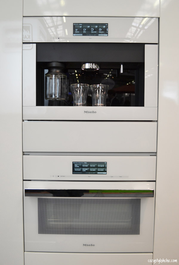The Generation 6000 Miele Combi Steam Oven In A New
