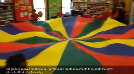 Musical Form, Movement, and a Parachute