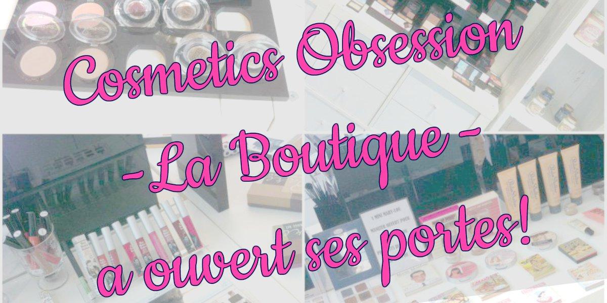 Cosmetics Obsession est au Flon à Lausanne!