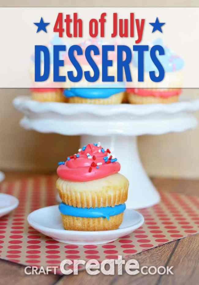 Craft Create Cook 4th Of July Desserts Craft Create Cook