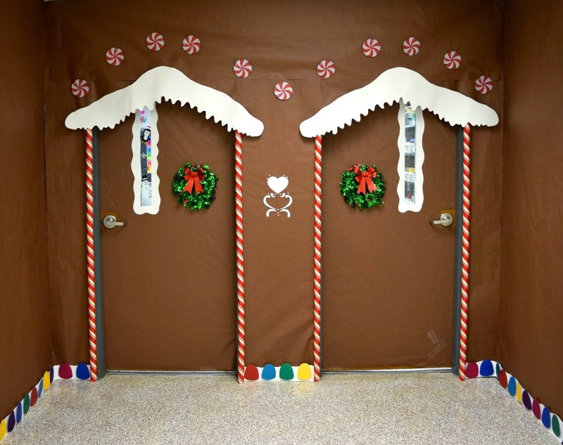 Large Of Christmas Door Decorating Ideas