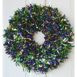 Small Crop Of Mardi Gras Wreath