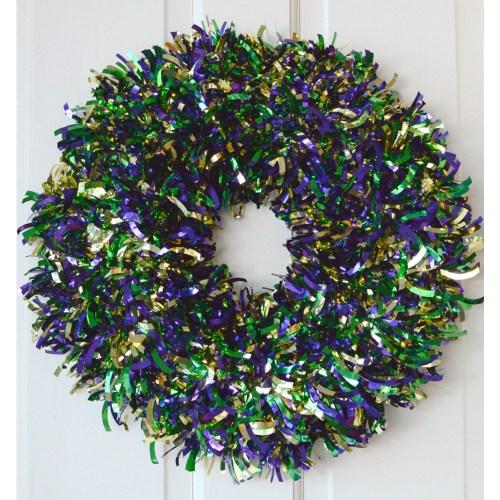 Medium Of Mardi Gras Wreath