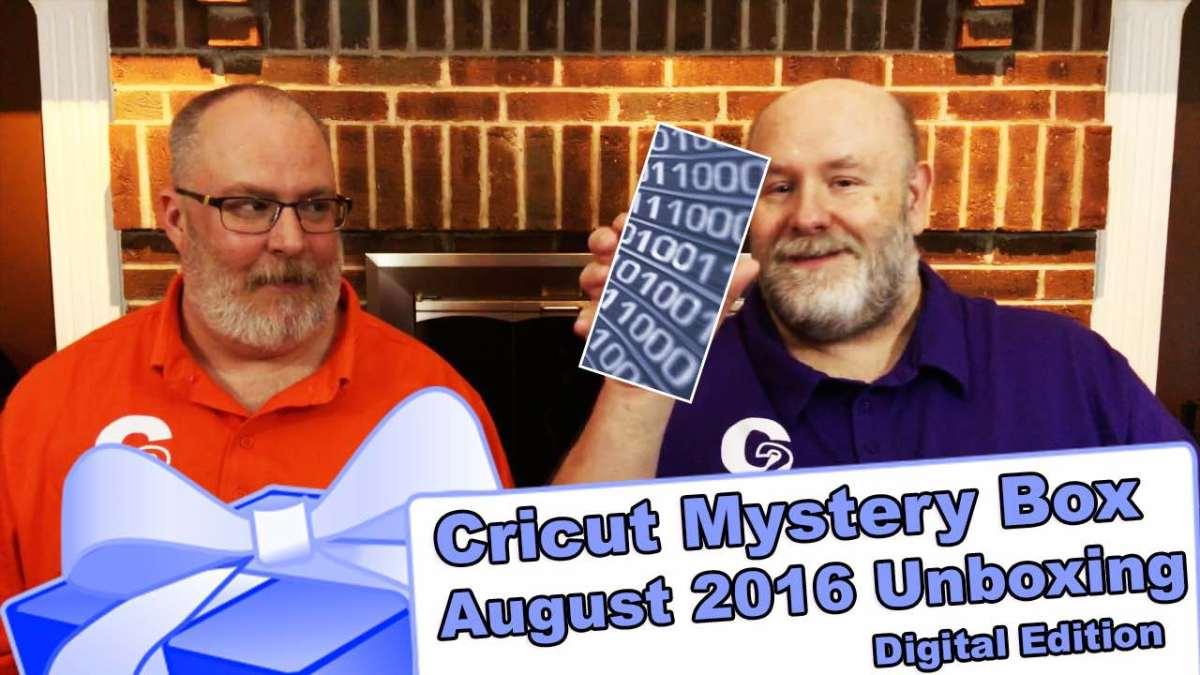 Video: Cricut Mystery Box - August 2016 Digital Box Unboxing