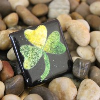 Polymer Clay Shamrock Pin (St. Patrick's Day Craft!)