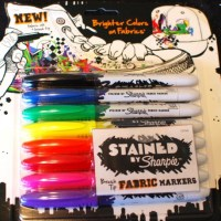 "Sharpie ""Stained"" Permanent Fabric Markers"