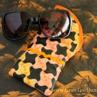 How To: Sunglasses Case From Custom Fabric Featuring Gelatos™ Colors