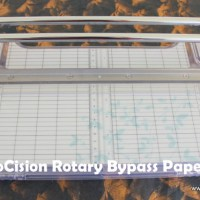 Craft Tool Review: ProCision Rotary Bypass Paper Trimmer by Fiskars