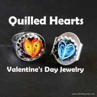 How-To: Quilled Hearts Jewelry