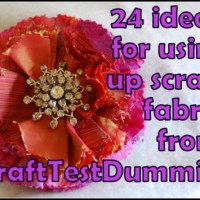 24 Ideas to Use Up Fabric Scraps