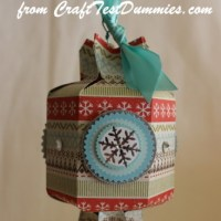 Candy Box Punch Board Ornament & Ideas for Larger Sizes!