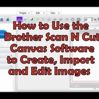 Brother Scan-N-Cut Canvas Software Overview