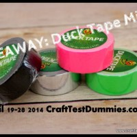 Weekend Giveaway- Duck Tape Minis!