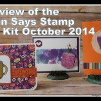 Simon Says Stamp Card Kit October 2014