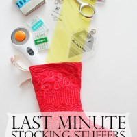 Last Minute Stocking Stuffers for Quilters