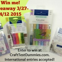 Friday Giveaway from Faber-Castell Design Memory Craft®