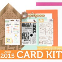 Simon Says Stamp April 2015 Card Kit & Inspiration