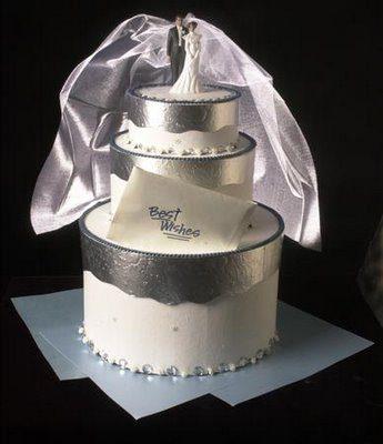 DIY Wedding Cake Card Box