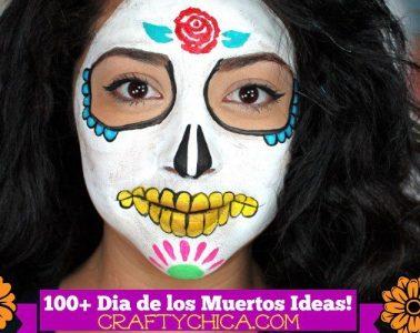 100+ ideas for Dia de Los Muertos by Crafty Chica.com.