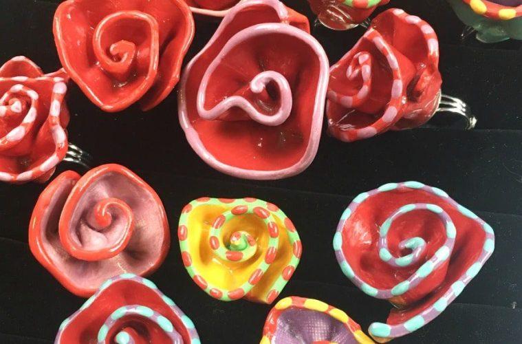 ceramic-rose-rings
