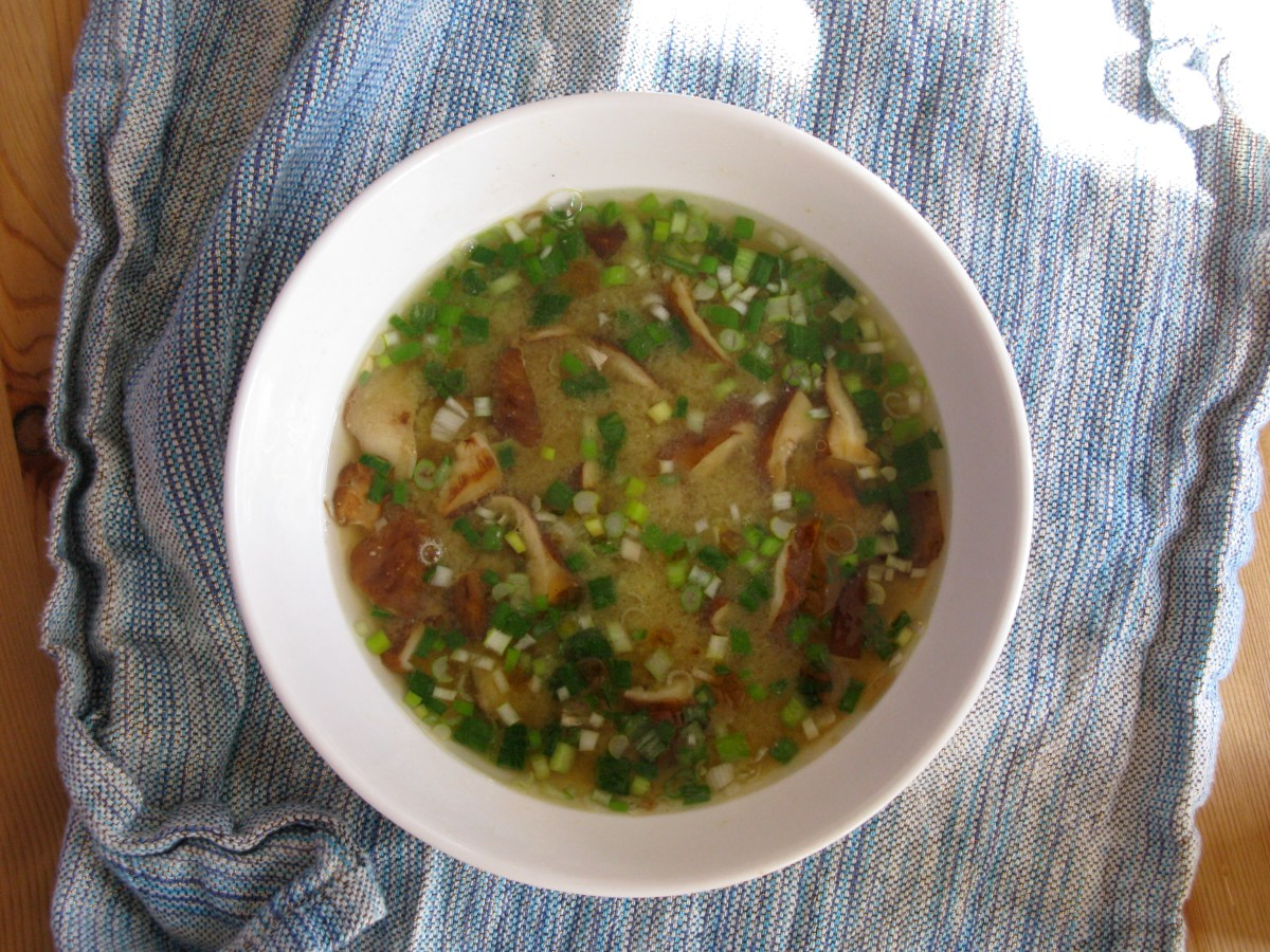 Restorative One Pot Miso Soup