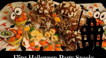 Flipz Halloween Party Snacks #HalloweenFLIPZ #ad