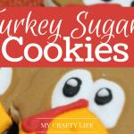 Turkey Sugar Cookies Recipe