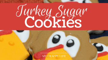 Turkey Sugar Cookies Recipe