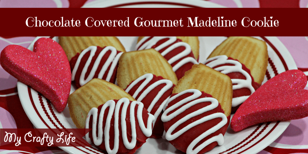 Chocolate Covered Gourmet Madeline Cookies