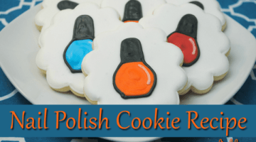Nail Polish Cookie Recipe