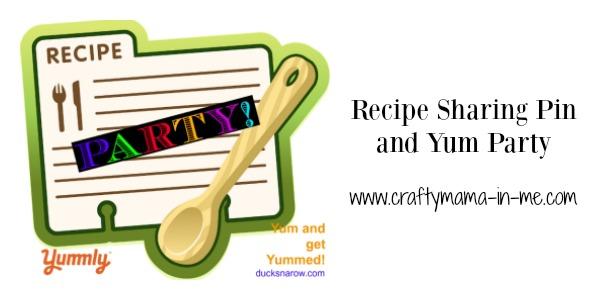 Recipe Sharing Pin and Yum Party 20