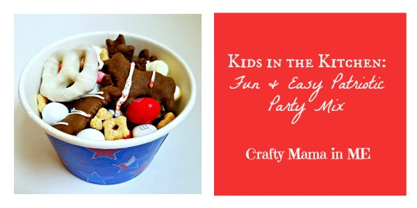 Kids in the Kitchen: Fun & Easy Patriotic Party Mix