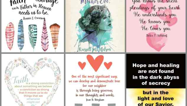Women's Session General Conference October 2016 Prints