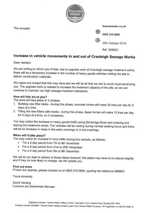cranleigh-sewage-treatment-works-schedule-nov-dec-2016