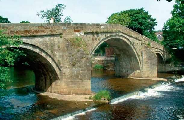 Ilkley Old Stone Bridge