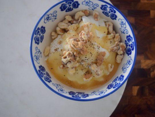 Peppered Honey Yogurt