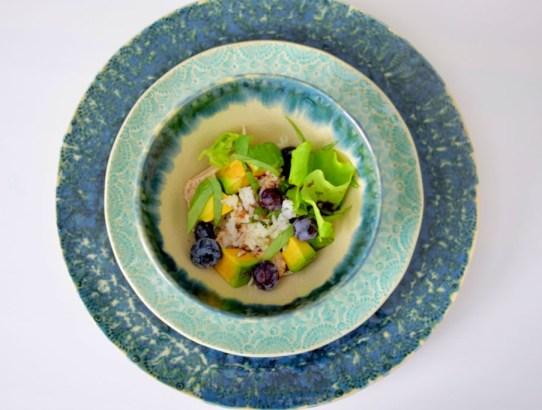 Blueberry Basil Avocado Salad-005