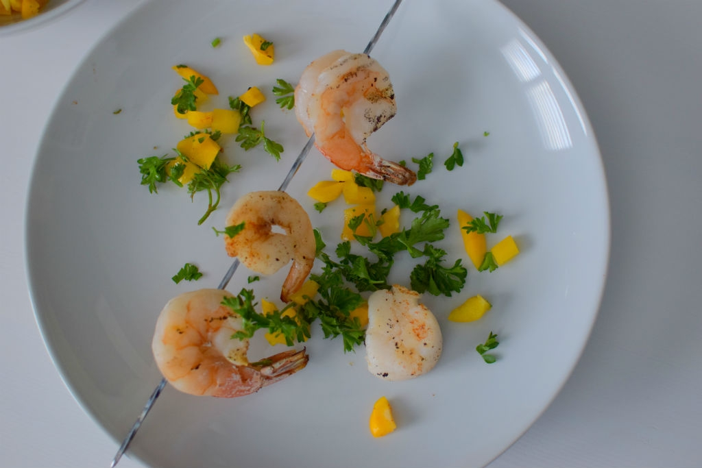 Yellow Pepper Paprika Relish and Shrimp-007