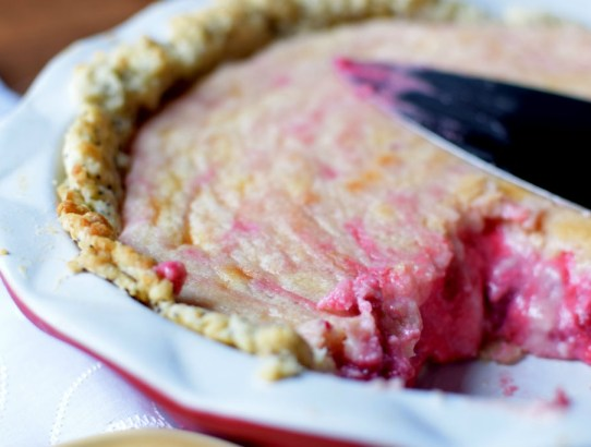 Raspberry Lemonade Cream Pie with Lemon Poppyseed Crust-034