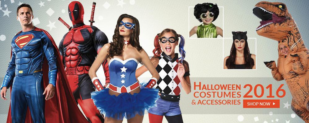 50% Off Halloween Costumes