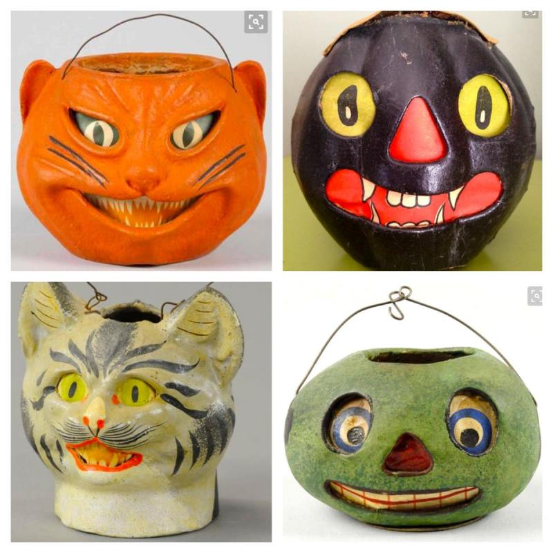 Large Of Vintage Halloween Decorations