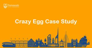 crazy egg case study portsmouth city council