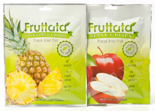 Snack on Fruttata Crisps!