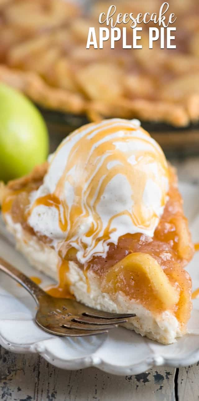 Fullsize Of Apple Pie Cheesecake