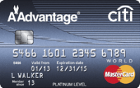 3X American AAdvantage Miles on Eligible Purchases Through 3/31/2015