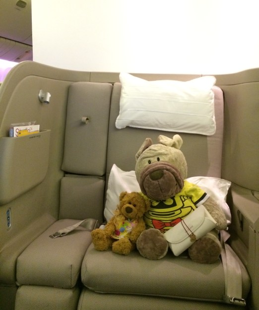 Cathay Pacific First Class Seating